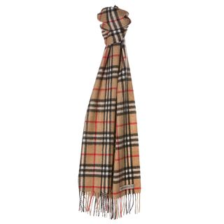 Burberry 'Icon Check' Cashmere Scarf Burberry Designer Scarves & Wraps