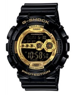G Shock Mens Digital Black Resin Strap Watch GD100GB 1   Watches   Jewelry & Watches