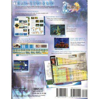 Final Fantasy X Official Strategy Guide (Brady Games Signature Series) Dan Birlew 9780744001402 Books