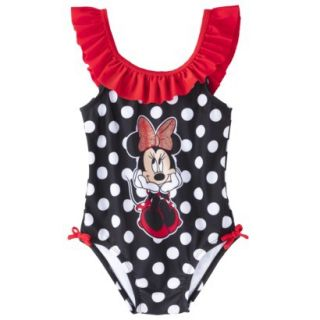 Disney® Minnie Mouse Toddler Girls 1 Piece