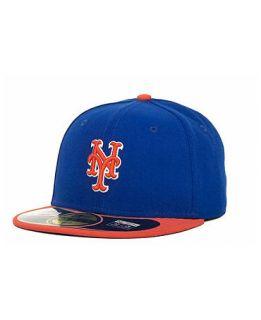 New Era New York Mets MLB Authentic Collection 59FIFTY Cap   Sports Fan Shop By Lids   Men