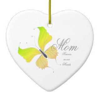In Loving Memory   Mom Mother Memorial Ornament