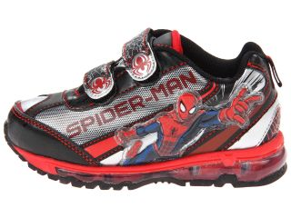 Favorite Characters Ultimate Spiderman Multi Lighted 1spf353 Shoe Toddler Little Kid Black
