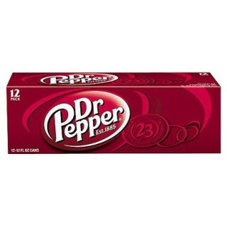 Dr. Pepper Soda 12 oz, 12 pk