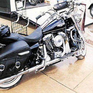 Lindby BL102 1/09 Gloss Black Front Highway Bar For Harley Davidson FLH Models Automotive
