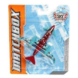 Matchbox  Sky Busters Metro Commuter Die Cast Aircrafts Toys & Games
