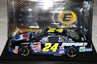 2001 #24 Jeff Gordon Dupont / Pepsi Color Chrome Colorchrome Metal Finish Racing Collectables Car of America RCCA ELITE 1/24 Toys & Games
