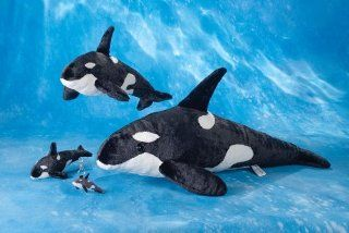 "Wyland 18"" Orca Killer Whale Plush Stuffed Animal Toy Toys & Games"