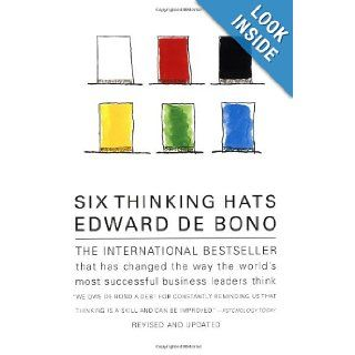 Six Thinking Hats Edward de Bono 9780316178310 Books