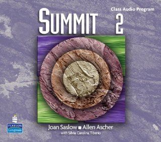 Summit 2 with Super CD ROM Complete Audio CD Program (Top Notch S): Joan M. Saslow, Allen Ascher: 9780131107120: Books