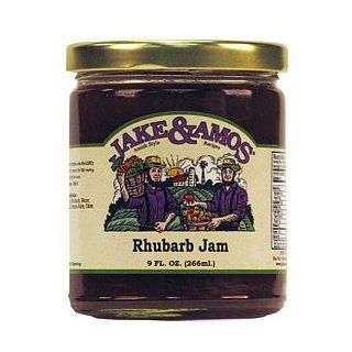 Jake & Amos Rhubarb Jam 2 x 9oz Jars : Jams And Preserves : Grocery ...