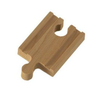 Wooden 2 in Straight Track Adapter Connector Brio Thomas Train Track: Toys & Games