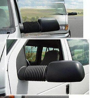 """94 02 FORD ECONOLINE VAN e150 e250 e350 e450 TOW MIRROR (PASSENGER SIDE = DRIVER SIDE) VAN, Power w/turn signal, Converts stock manual mirrors to power, One Set (LH & RH), extends up 21"""" out (1994 94: Automotive"""