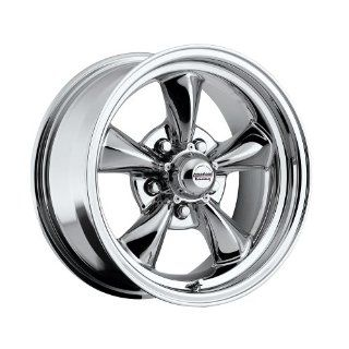 """15 inch 15x6"""" / 15x7"""" 100 C Classic Series Chrome aluminum wheels rims licensed from American Racing 5x4.50"""" Ford lug pattern 0 offset 3.50"""" and 4.00"""" backspacing (set of four wheels) Automotive"""