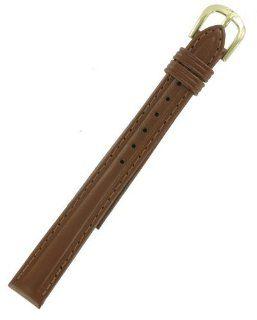 12mm Ladies Tan Mesa Leather Replacement Watch Band Speidel: Watches