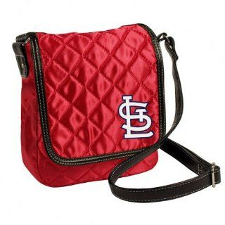 MLB St. Louis Cardinals Quilted Purse, Classic Red : Sports Fan Bags : Sports & Outdoors