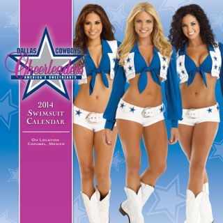 Turner Licensing Dallas Cowboy Cheerleaders Calendar 2014