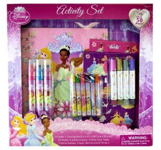 Disney Princess Art Set   Disney Princess Activity Set   Princess Stationery Set: Toys & Games