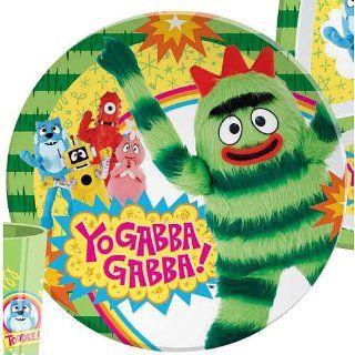 Yo Gabba Gabba Plate by Zak! Brobee Kids   Yo Gabba Gabba Plate Set
