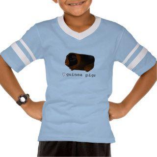 """Love Guinea Pigs"" Cute Tortoiseshell Guinea Pig Tshirt"