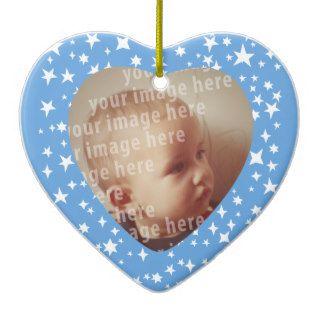 Heart Shaped Photo Frame Ornaments