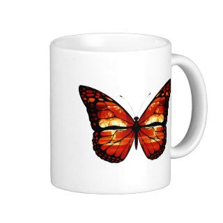 Atomic Mushroom Cloud Butterfly Mug