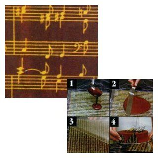 Pfeil & Holing Chocolate Transfer Sheet   Musical Score: Food Decorating Tools: Kitchen & Dining