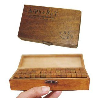 70pc/set Multi purpose Number Writing Alphabet Letter Wood Writing Rubber Stamp : Other Products : Everything Else