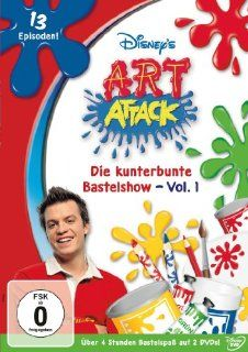 Art Attack   Die kunterbunte Bastelshow, Vol. 1 2 DVDs: Francis Wright, Neil Buchanan, Philippe Rouault, Tim Edmunds: DVD & Blu ray