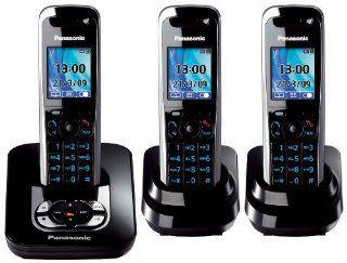 Panasonic KX TG8423GB schnurloses DECT Telefon Trio mit Elektronik