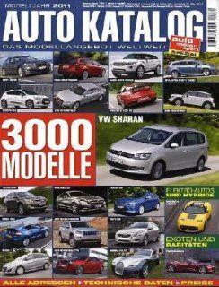 Auto Katalog 2011 3000 Modelle Bücher