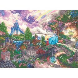 Disney Dreams Collection Cinderella Wishes By Thomas Kinkade MCG Textiles Cross Stitch Kits