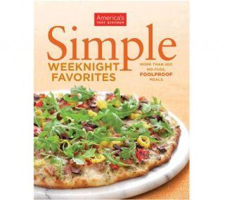 SimpleWeeknigh Favorites Cookbook from Americas Test Kitchen —