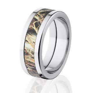 Duck Blind Camo Wedding Rings,Mossy Oak Camouflage Bands,USA Made: The Jewelry Source: Jewelry