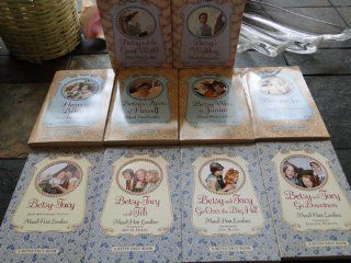 Betsy Tacy Collection Set 9 Books: Betsy Tacy, Betsy Tacy and Tib, Betsy and Tacy Go Downtown, Betsy and Tacy Fo OVer the Big Hill, Betsy's Wedding, Betsy and the Great World, Betsy in Spite of Herself, Heaven to Betsy, Winona's Pony Cart: Maud Har