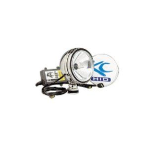 KC HiLiTES 1660 Daylighter Stainless Steel 50w HID Spot Beam   Single Light Kit w/ Cover: Automotive