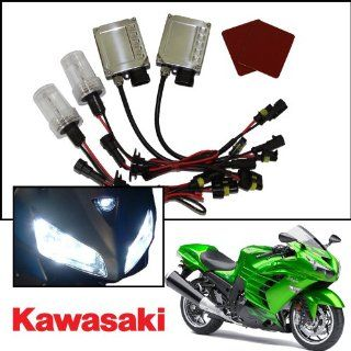 TGP H7 Specialty Purple AC HID Xenon Kit (Low Beam Only) 2003 2012 Kawasaki Z1000 Automotive