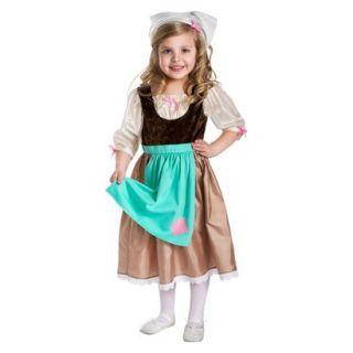 Little Adventures Cinderella Day Dress w/ Head Scarf XL