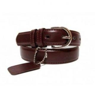 Genuine Leather Women's Dress Belt Basic Colors Dark Burgundy at  Women�s Clothing store: Apparel Belts