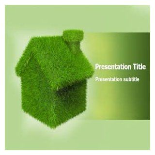 Green Home Powerpoint Templates   Green Home Powerpoint Presentations Software