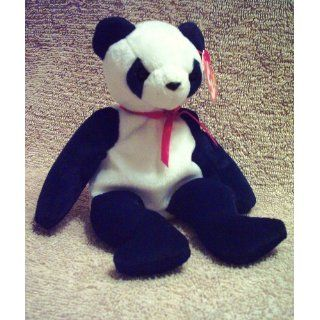 Ty Beanie Babies   Fortune the Panda Bear Toys & Games