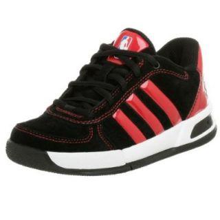 adidas Little Kid/Big Kid BTB LT NBA Heat Basketball Shoe, Black/Red/Gold, 13 M US Little Kid  Fashion Sneakers  Shoes