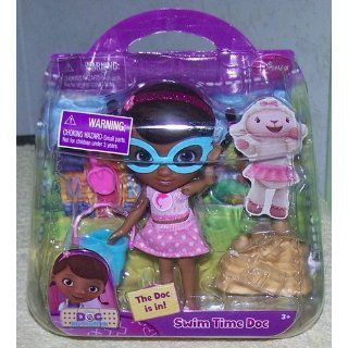 Just Play Doc McStuffins Swim Time Doll Set: Toys & Games