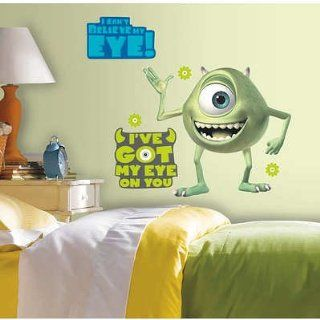 (18x40) Monsters Inc Giant Mike Wazowski Peel & Stick Wall Decals   Prints