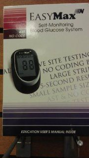 EASY MAX SELF MONITORING BLOOD GLUCOSE SYSTEM Health & Personal Care