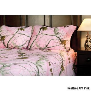 Birchwood Trading Realtree APC Pink Camo Twin Comforter Set 754358