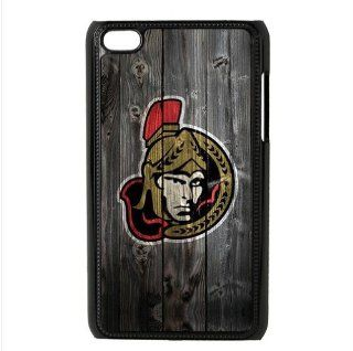 Wood Look NHL Ottawa Senators Accessories Apple iPod Touch 4 iTouch 4th Waterproof Designer Hard Case Cover   Players & Accessories
