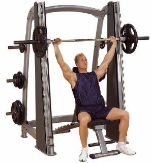 Body Solid Pro Clubline Counter Balanced Smith Machine  Sports & Outdoors