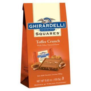Ghirardelli Toffee Crunch Milk Chocolate Squares