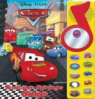 Disney Pixar Cars Radiator Springs Sings Editors of Publications International Ltd. 9781605533896  Kids' Books